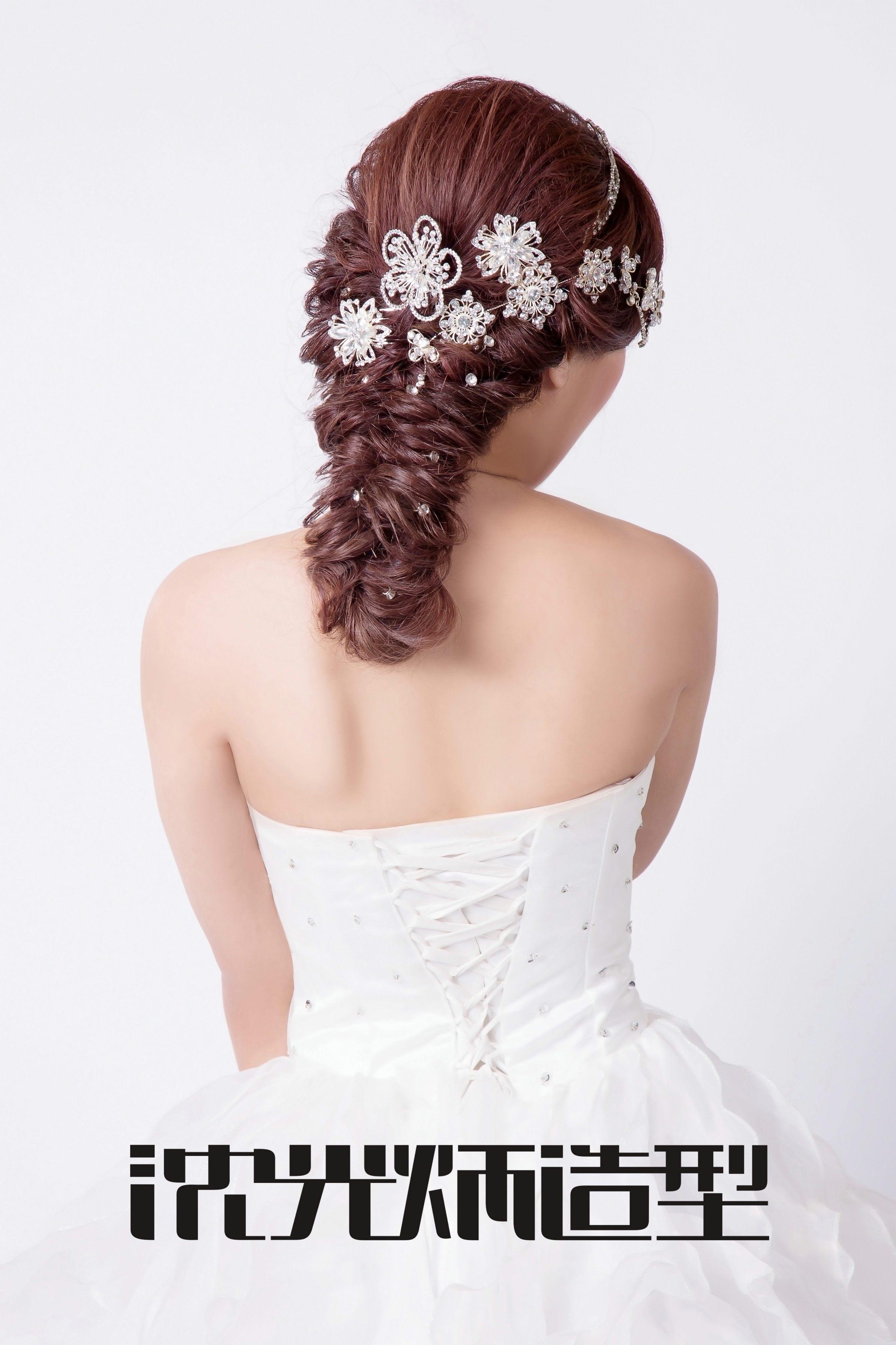 2018年沈光炳造型流行新娘造型,韩式新娘发型特点及步骤,新娘发型图片图片
