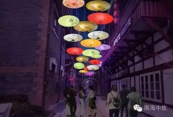 油纸伞主题灯,充满江南风韵的青花瓷灯组,璀璨绚丽的星空主题,把汉口