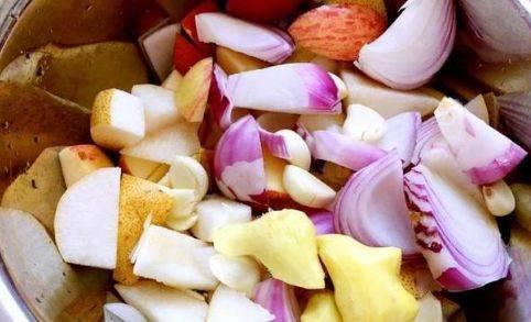 将洋葱,酸奶,大蒜切块,雪梨剥皮,生姜削皮作用敷脸有什么苹果图片