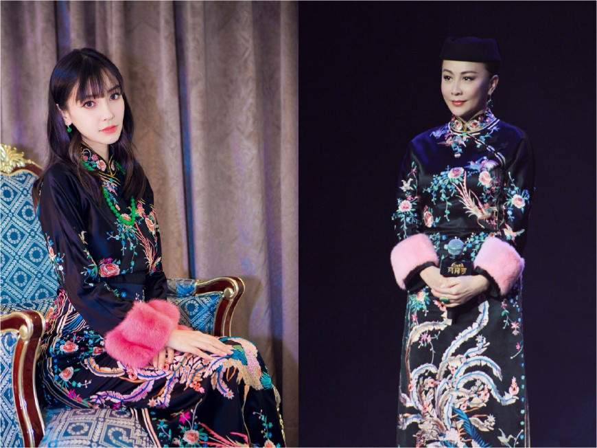 53岁刘嘉玲跟29岁杨颖撞衫,谁更胜一筹?