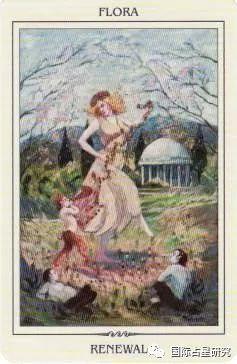 遠古女神占卜牌:以嶄新而繁盛的生命力綻放異彩