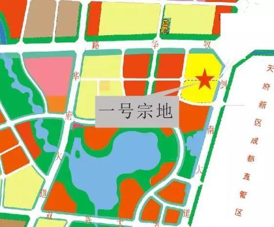 502亩 城南怡心湖板块首次亮相成都土地市场图片