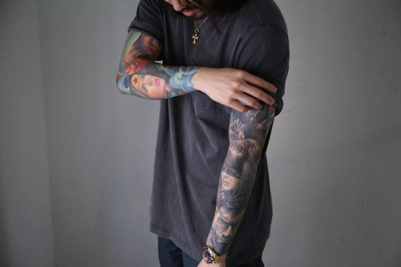 欧美囹�a���_皮囊上的一针入魂,josh lin 的黑灰色纹身术 | tat-talk #002