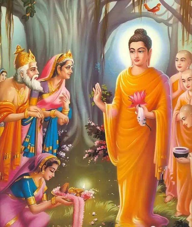 【听】释迦牟尼佛陀对女子面容形貌的精彩开示图片