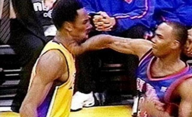 """NBA最强悍的五次打架事件,即便是""""社会瓜""""也曾在被人追着揍"""