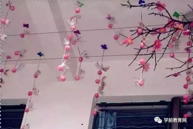 春季环创:幼儿园开园春季手工主题墙环创布置(大,中,小)