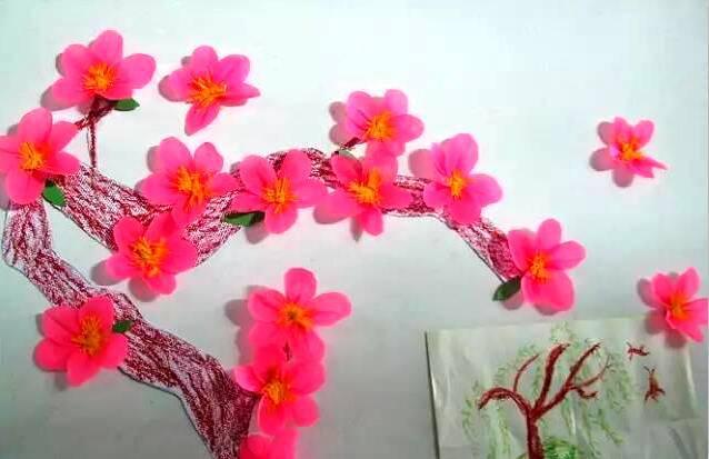 【春季环创】幼儿园开园春季手工主题墙环创布置(大,中,小)各年级段很