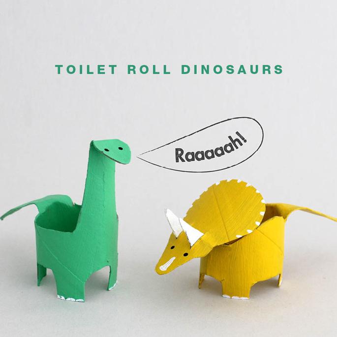 手指恐龙手工制作