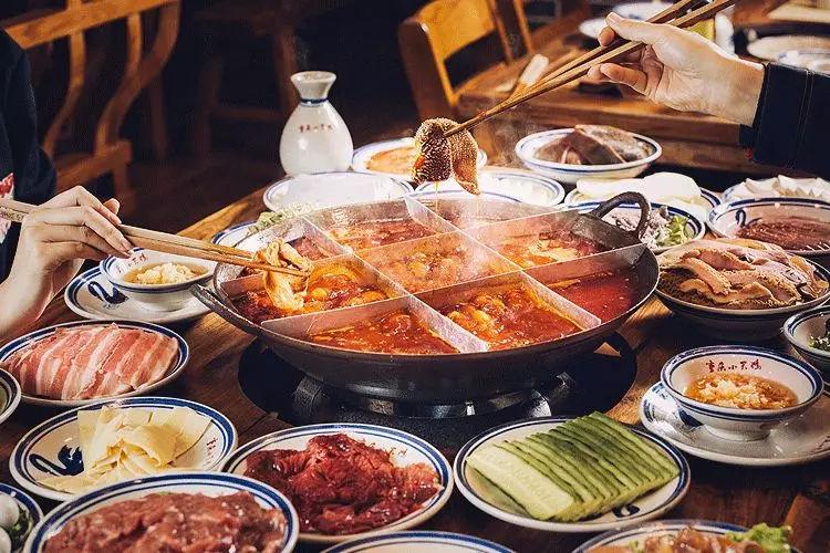 能在一起吃火锅的人,一定是一个世界的