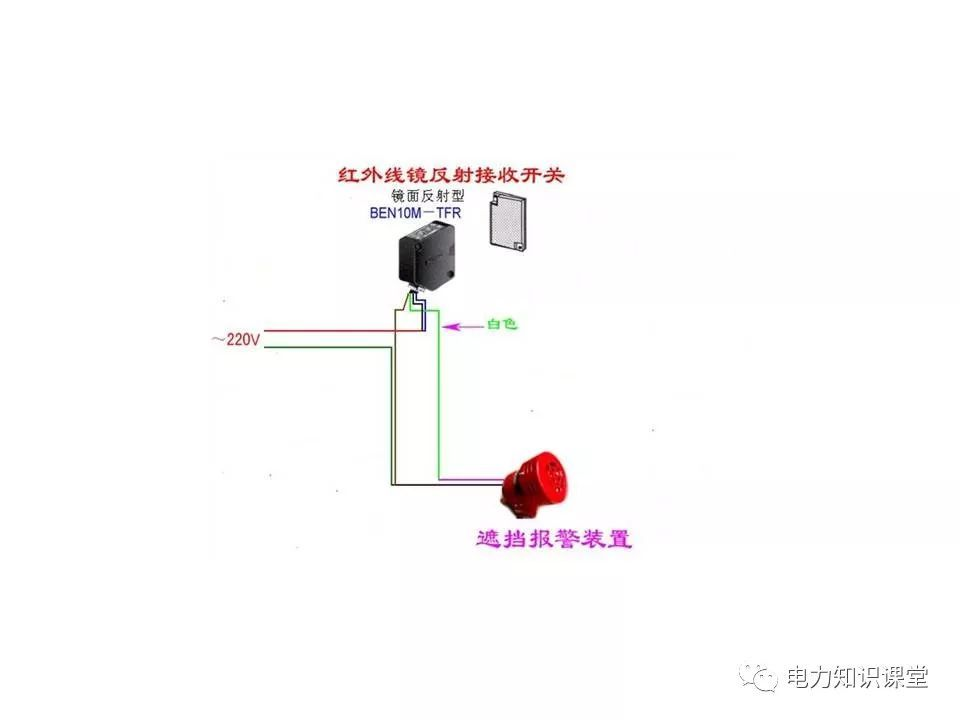 电气控制实物接线图
