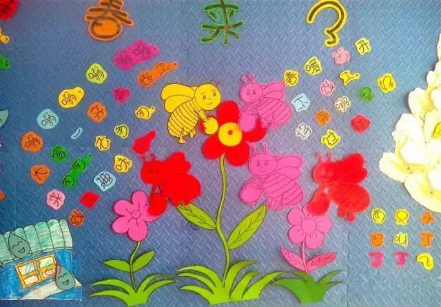 100款幼儿园春天主题墙环创,实在太美了!(收藏起来)