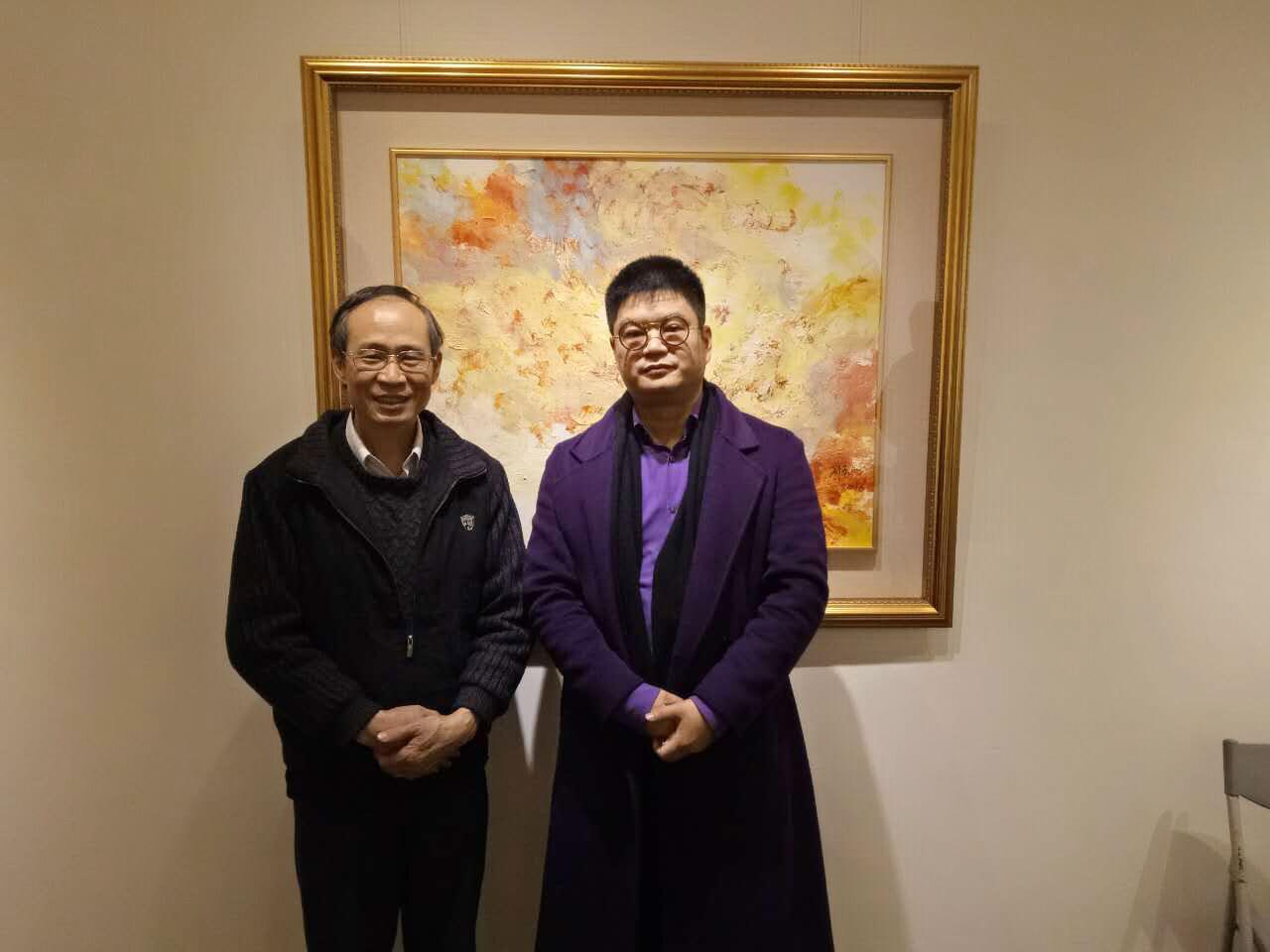 """""""宽境--2018王清州台湾画展"""" 开展图片"""