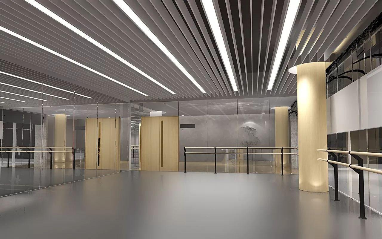 设计互联 | 海上世界文化艺术中心3楼, 占地650余平方米,是中央芭蕾舞