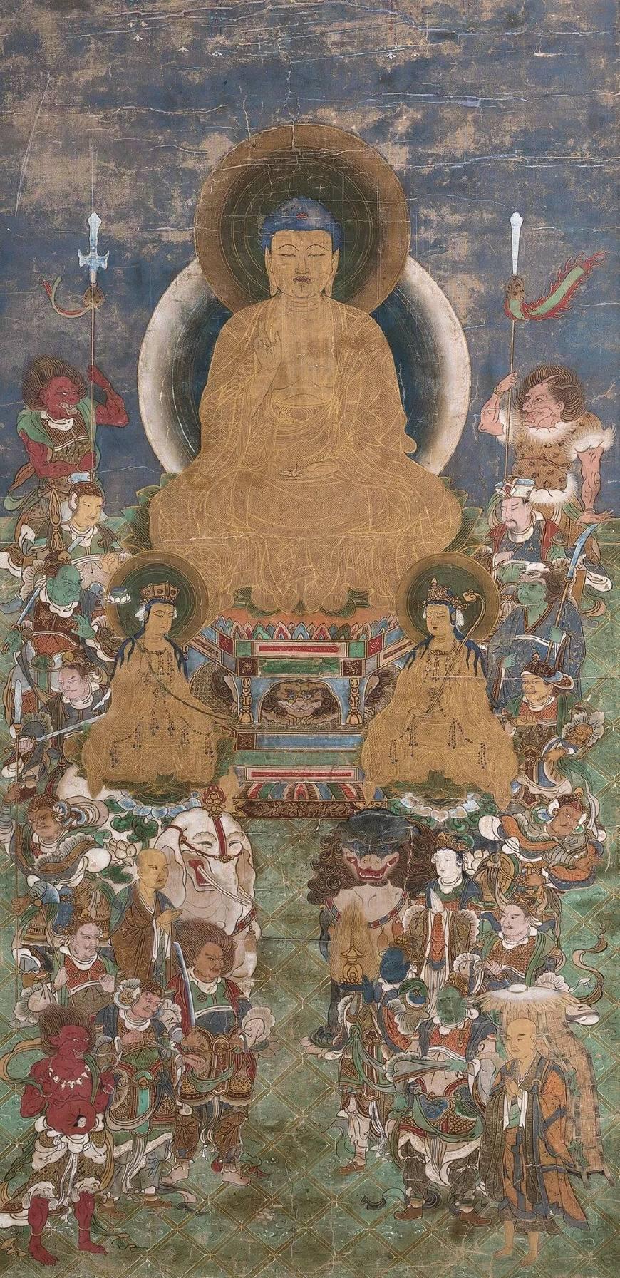 宗教题材是绘画艺术的一个永恒主题