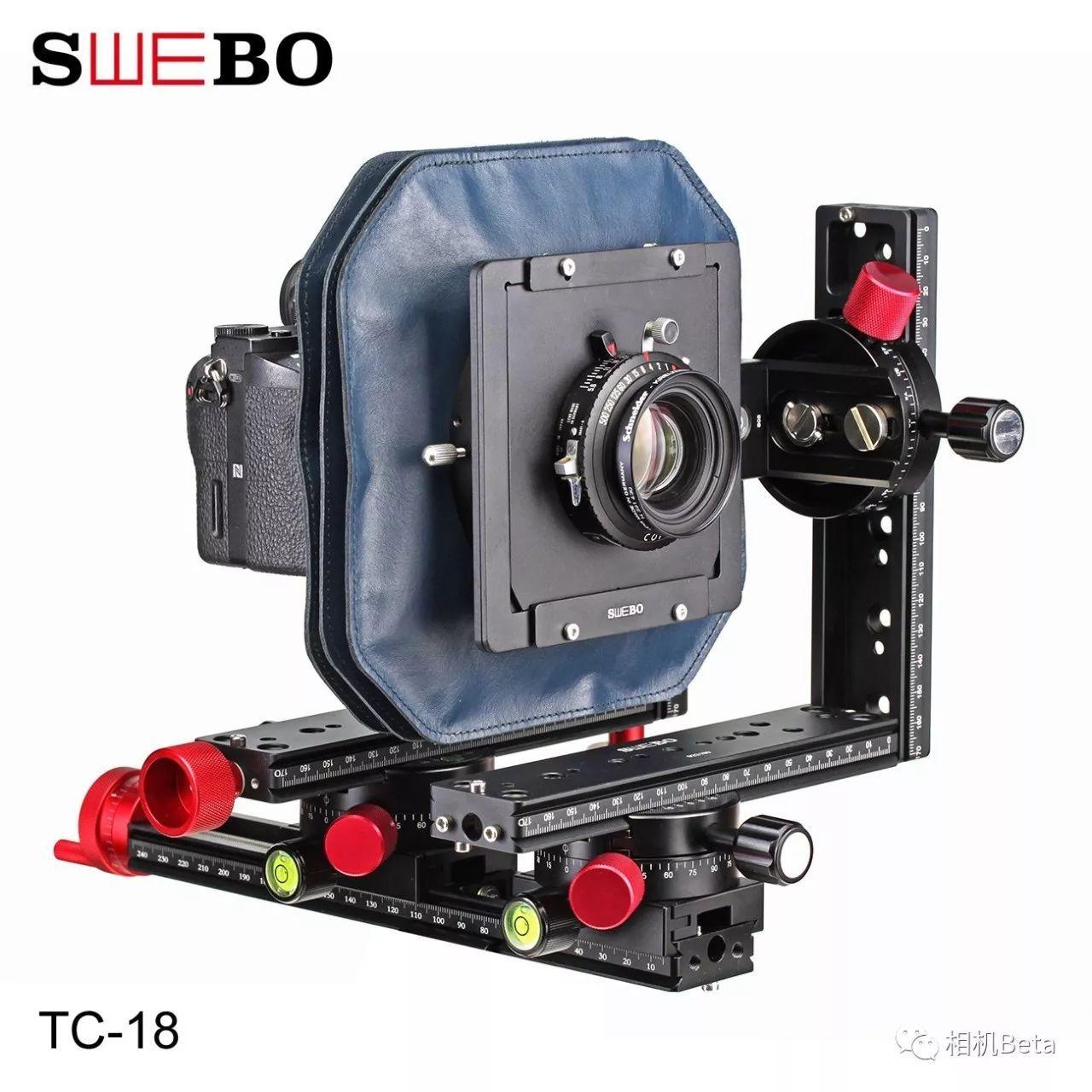 SWEBO积木化微单轨技术相机系统升级