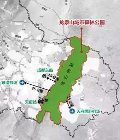 1275平方公里 项目规模 : 涉及成都高新区,天府新区,龙泉驿区,青白江图片