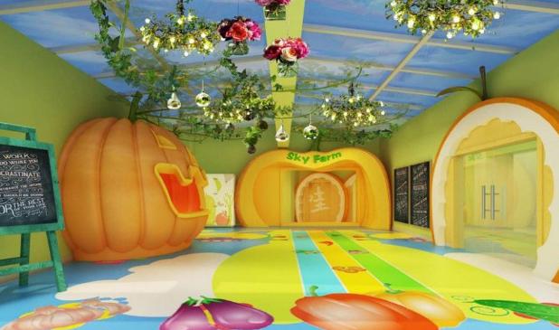 7款幼儿园主题墙装饰,献给孩子的造梦空间