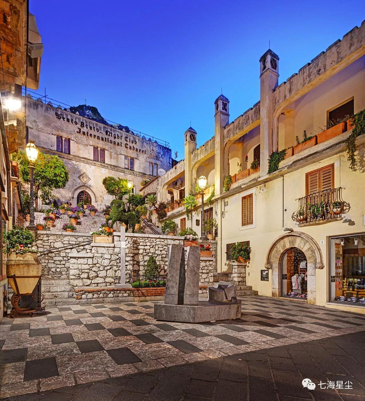 西西里若有十分美,九分尽在这个小镇!