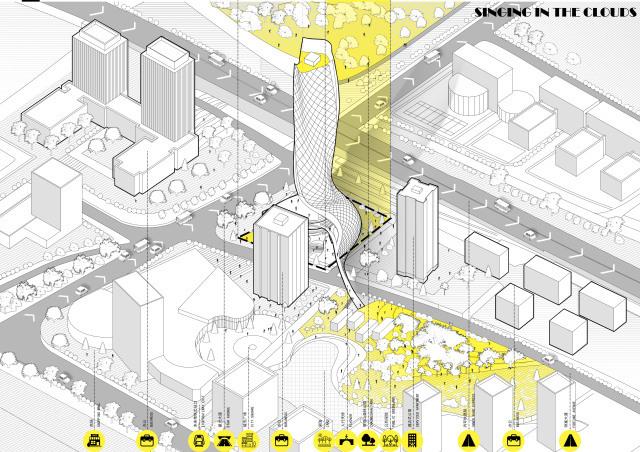 建卒基础 重庆大学考研城规课堂2014级建筑学高层建筑学院设计课程西安交大建筑课题设计机械图片