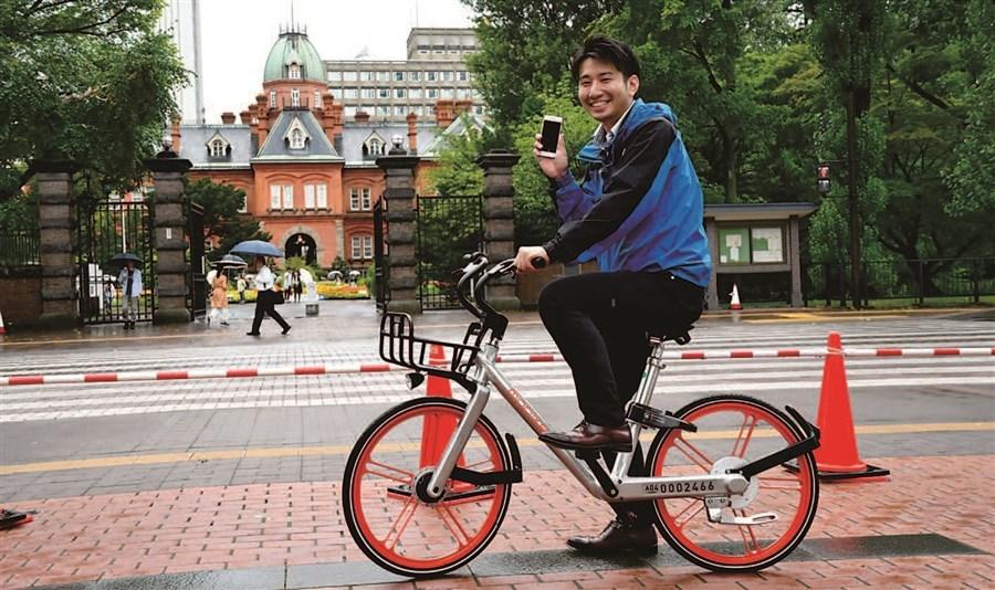 共享单车在日本不温不火,如何停放成最大难题