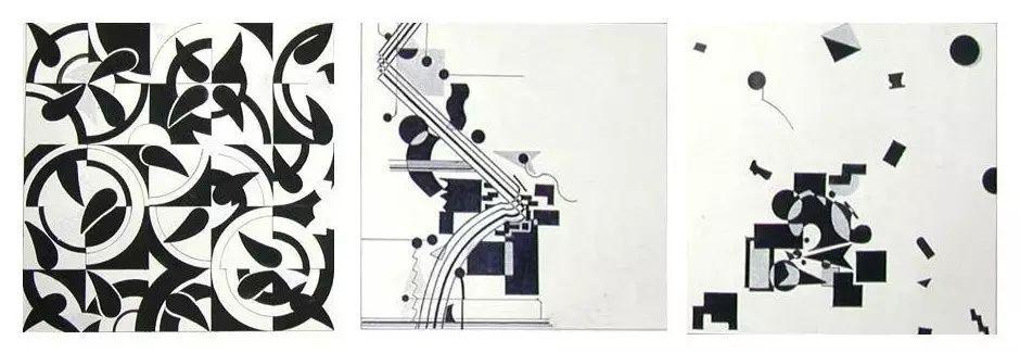 设计线构成,关键在于把握线形态的性格表现↓ 如: 垂直线--富于生命力图片