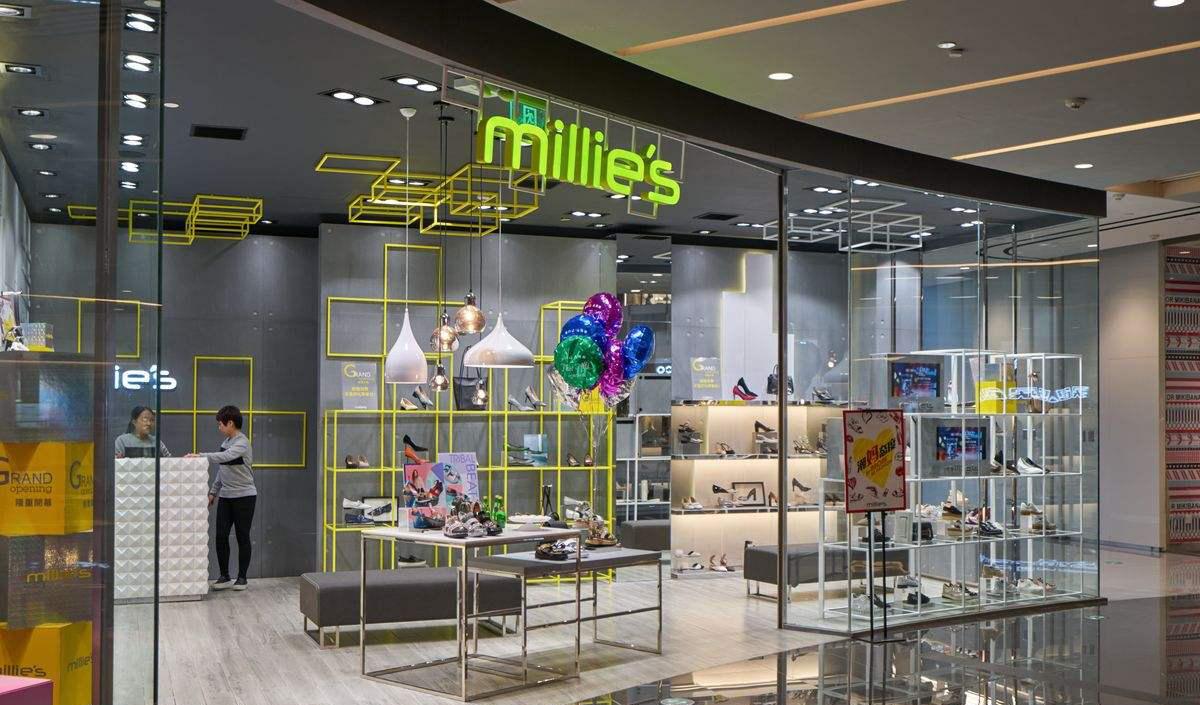 根据品牌特色对鞋店装修设计风格定位图片