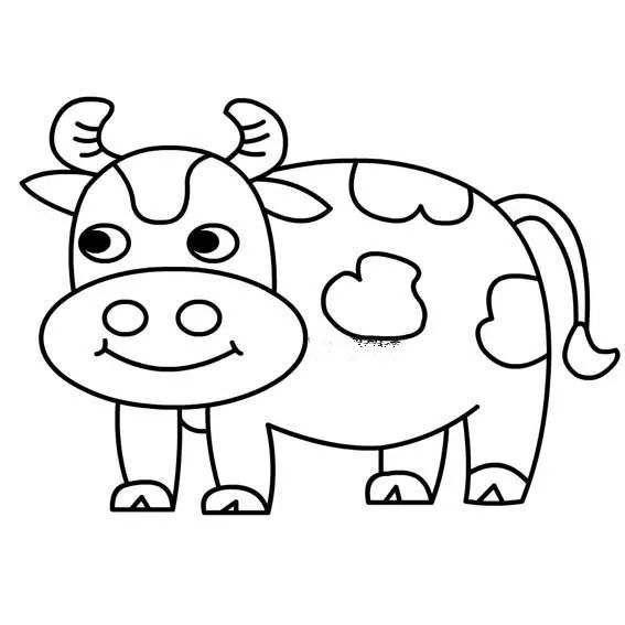5分钟学会12生肖的简笔画,别说你不心动!(附生肖谜语图片