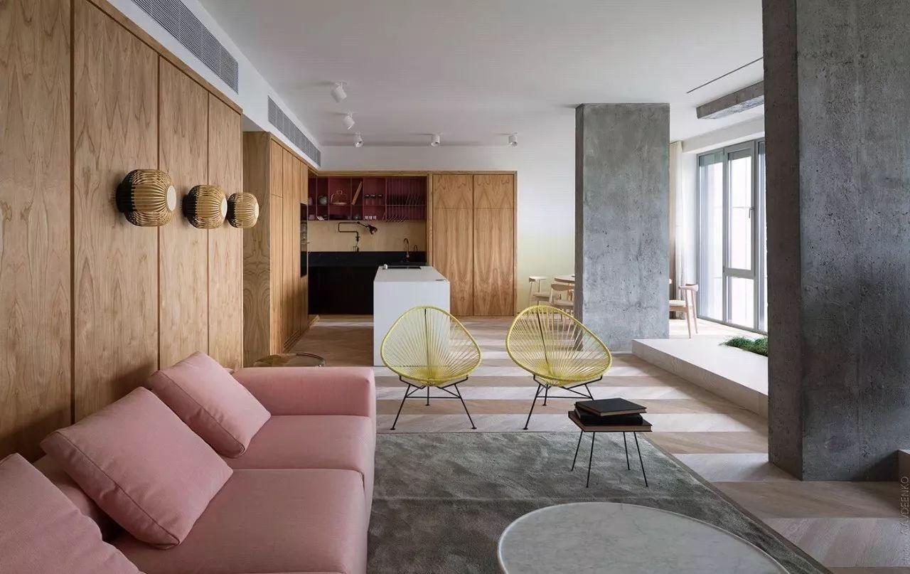 【川谷堂】粉色+农村,一抹少女心!房屋一间一层半农村灰色设计图图片