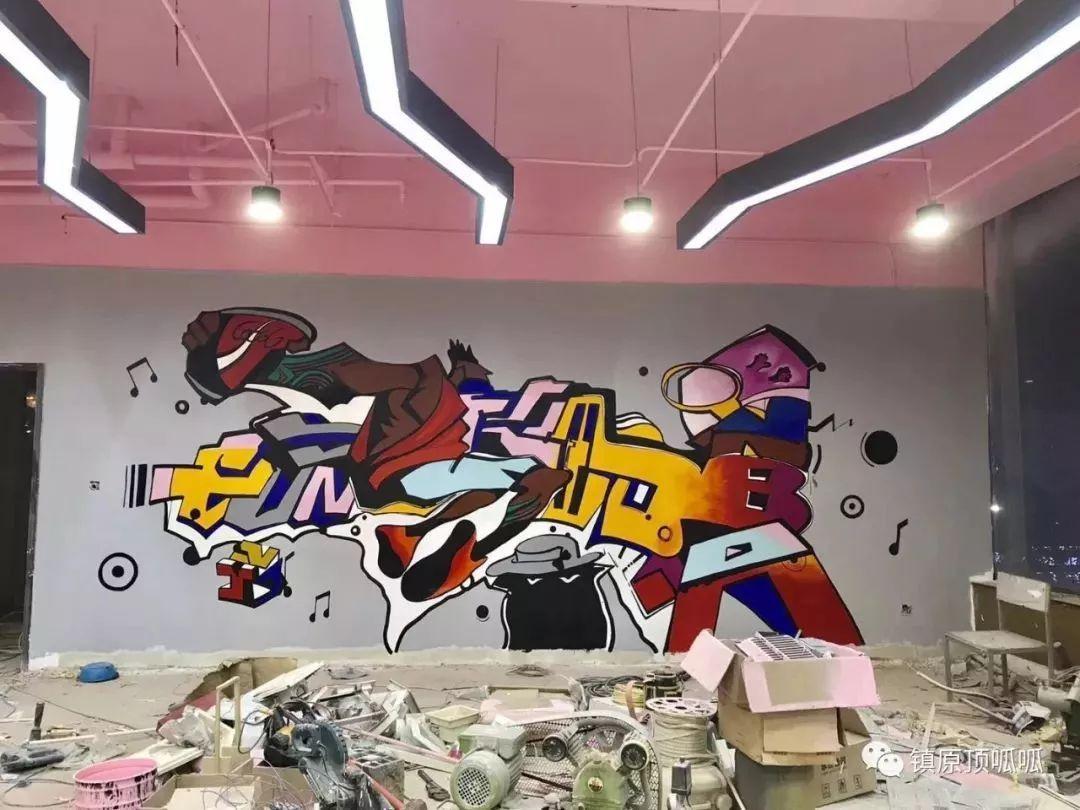 动漫墙体彩绘