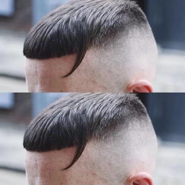 男生 盖盖头 发型图片