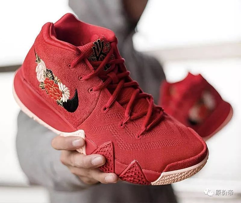 nike kyrie4 欧文4 cny 中国 篮球鞋图片