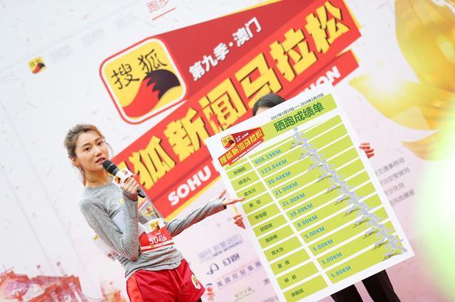 2018搜狐新闻马拉松澳门起跑 众星采访猛料十足