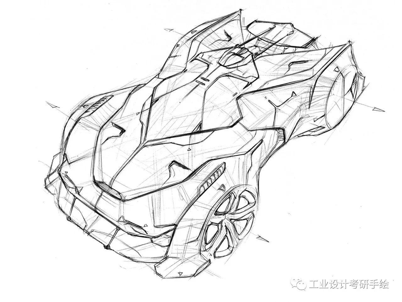 汽车设计手绘线稿(一)_搜狐搞笑_搜狐网