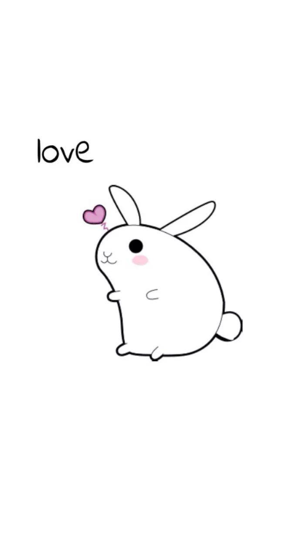 超可爱的兔子壁纸!勾起你的少女心!