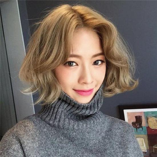 2018女生短发发型图片 短发