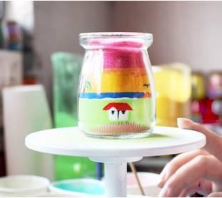 【活动报名】约旦沙瓶画手工制作丨一沙一世界,奇景收瓶中