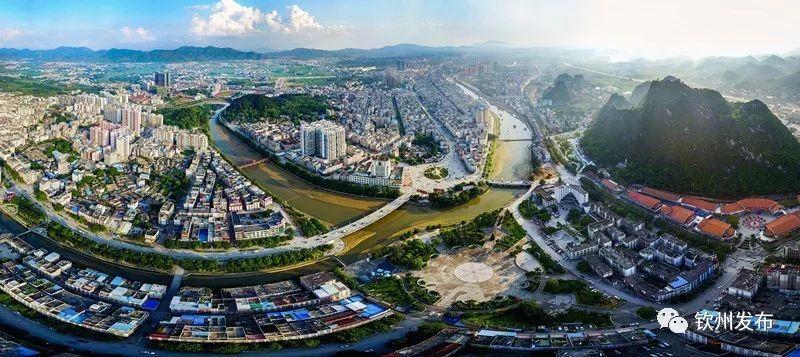 国家园林城市(灵山) 灵山县委宣传部供图 灵山县位于美丽富饶的钦州
