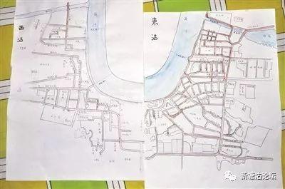 """老人凭记忆整理地名 手绘地图还原大沽""""街景"""" 附:【大沽的地名】"""
