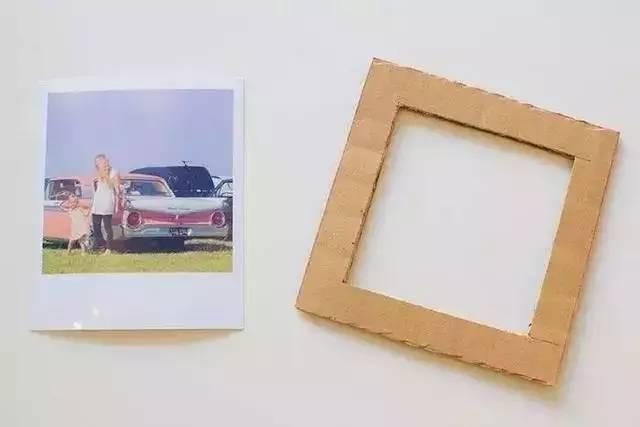 10款亲子手工之相框制作,用纸胶带,树枝,纸皮就能做出
