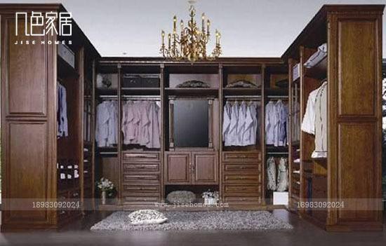 重庆欧式风格衣柜定制