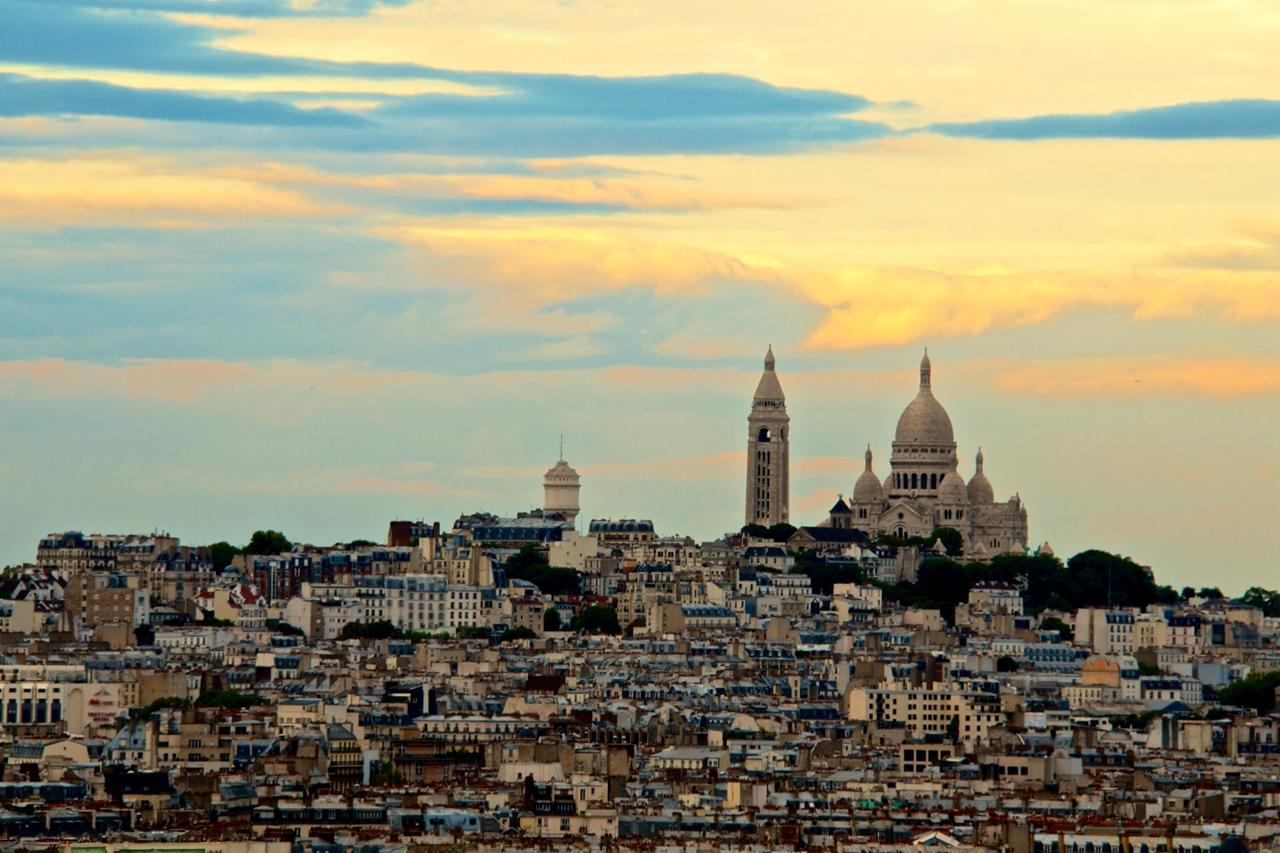 欧洲行(19)巴黎建筑风景让我的思绪飘向远方