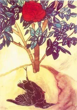 夜莺与玫瑰英文朗�_林徽因译王尔德:夜莺与玫瑰