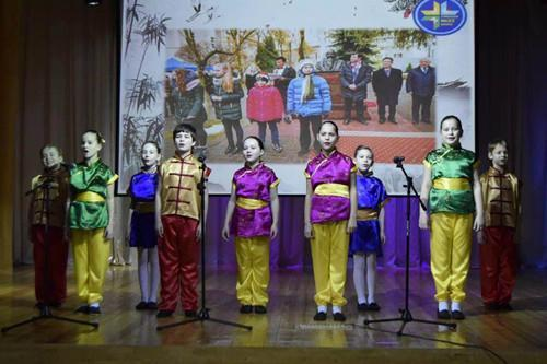 """""""中国之星""""白俄罗斯少年儿童汉语文化艺术节举行"""