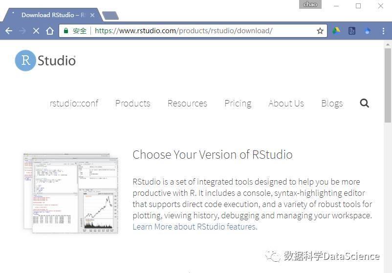 R Studio Download Page