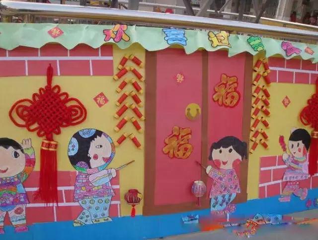 幼儿园创意手工展示墙-小学低年级文化墙布置,幼儿园,