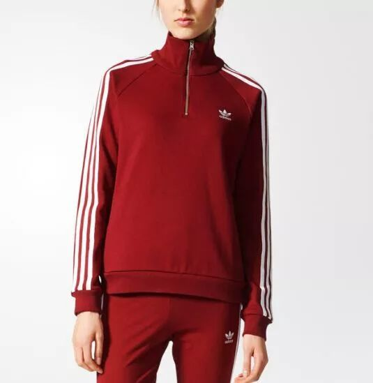 adidas adibreak track 女裤酒红色,现价$80.00   adidas sst track 杨幂同款女裤,现价$65.00   adidas cloud sst 童款套装两件套,   adidas sst track 夹克多色选,现价$
