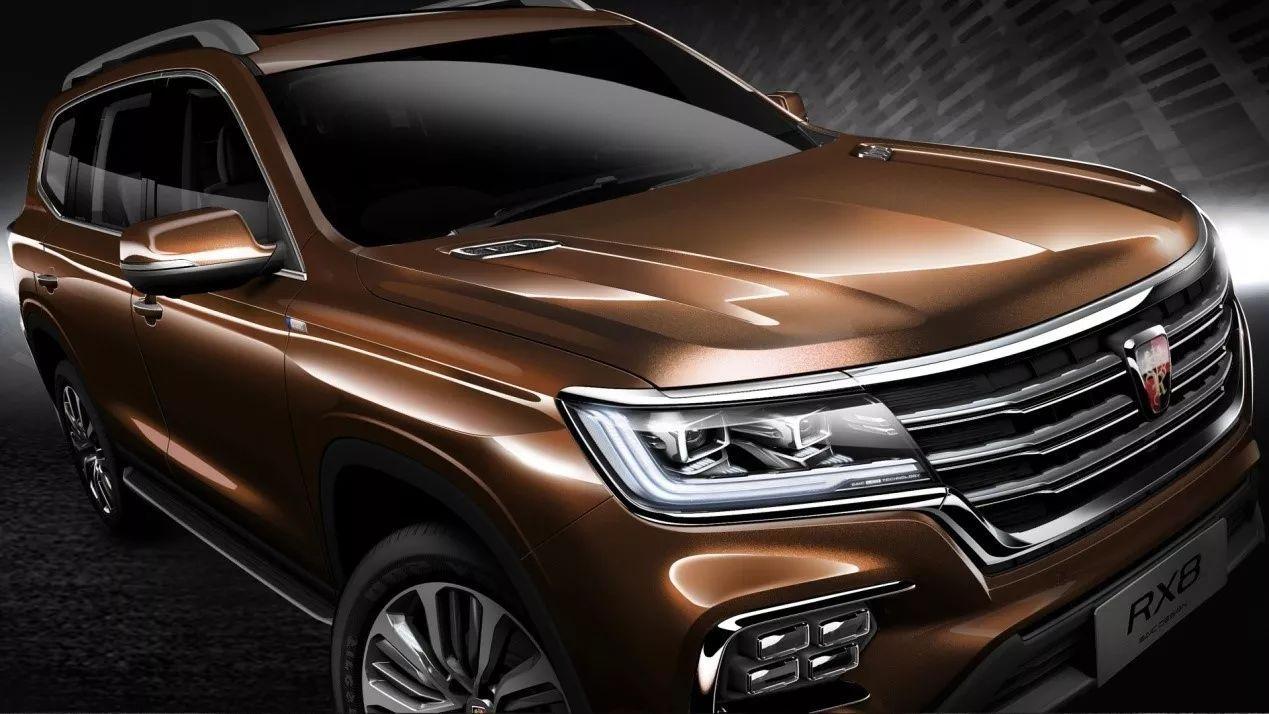"""基于新一代IS平台打造 荣威首款大型豪华七座SUV命名""""荣威RX8"""""""
