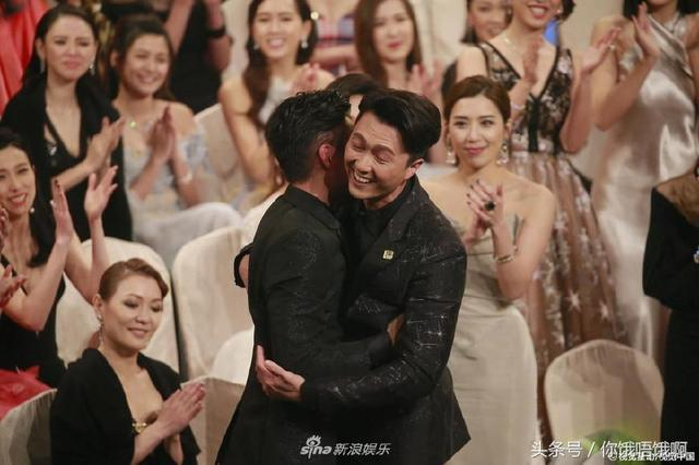2017tvb视帝视后是王浩信和唐诗咏 其他明星的表情