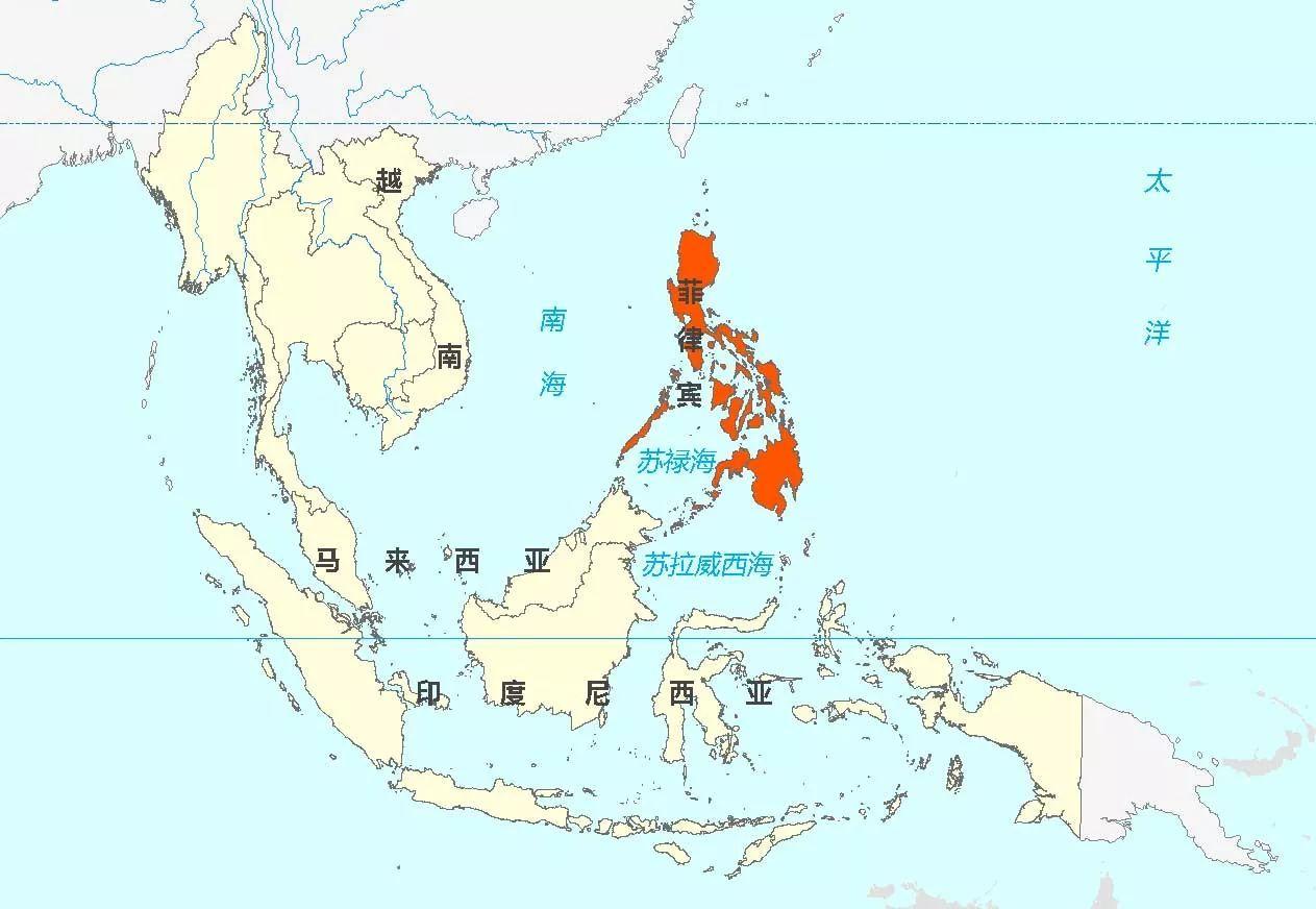 大部分岛屿都是板块碰撞形成的 岛弧(什么是岛弧点这里),菲律宾共有5