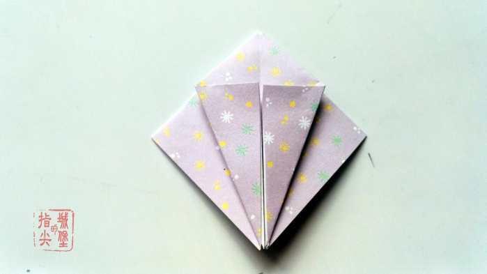 简单的折纸小花, 手工折纸详细教程图解大全!
